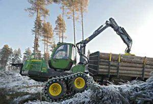 Амкодор готов поставлять технику для лесного хозяйства на рынок Румынии