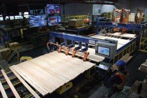 В декабре 2019 г. коэффициент загрузки производственных мощностей в деревообработке Канады составил 74,1%