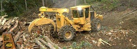 You are currently viewing Новый грейферный трелевочный трактор  от Tigercat