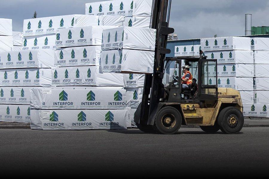 Британская Колумбия: производство пиломатериалов упало на 20%