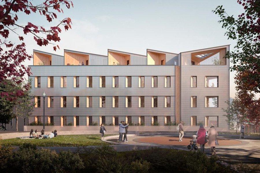 Новое многоэтажное здание из древесины появится в Бостоне, США