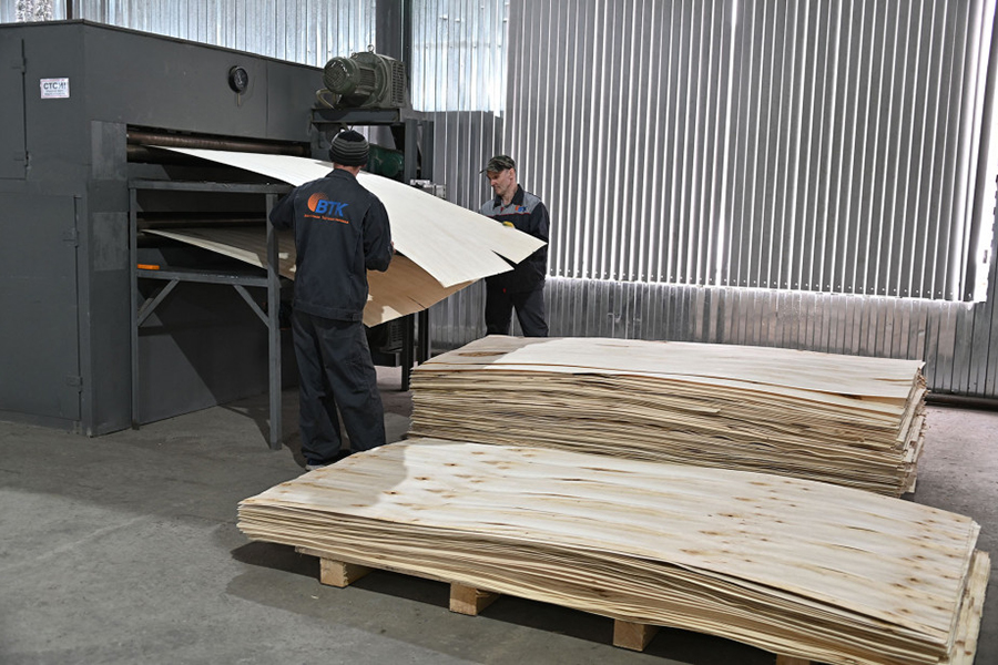 В Хабаровском крае появилось новое производство фанеры