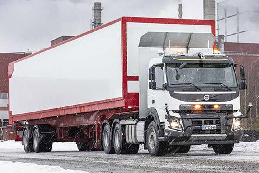 You are currently viewing В Stora Enso тестируют беспилотный грузовик для повышения безопасности