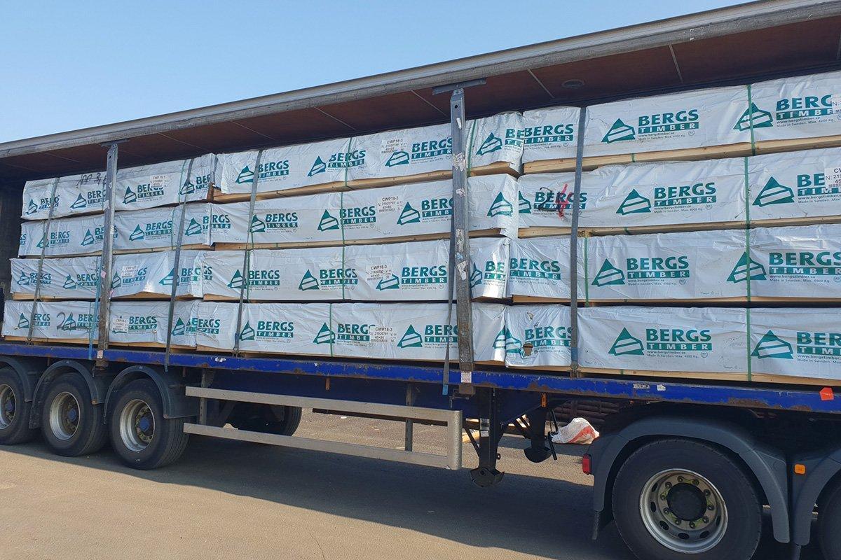 Bergs Timber сократит объем производства на лесопильных заводах на 30%
