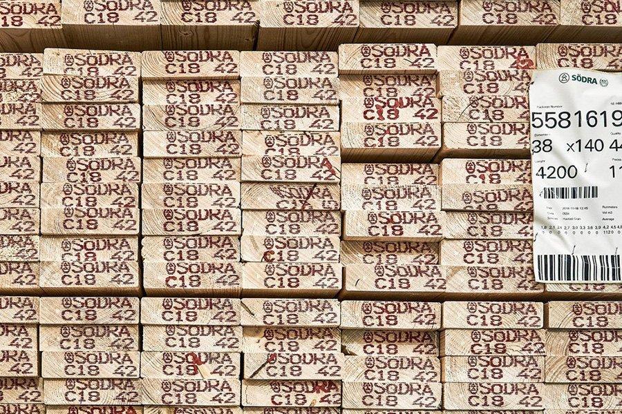 Из-за коронавируса Sodra Wood сократит производство пиломатериалов на двух заводах в Швеции
