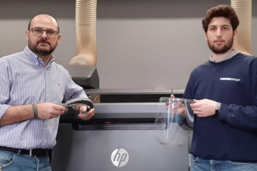 You are currently viewing Biesse помогает бороться с Covid-19 использованием 3D-принтера