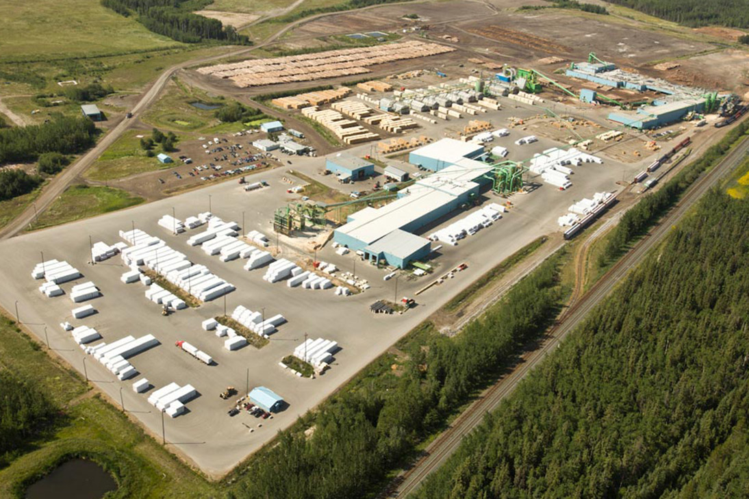 В апреле 2020 г. Canfor Corporation сократит производство пиломатериалов в Канаде на 30%