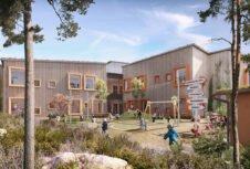 Sodra будет поставлять CLT-панели для строительства инновационного дошкольного учреждения в Швеции