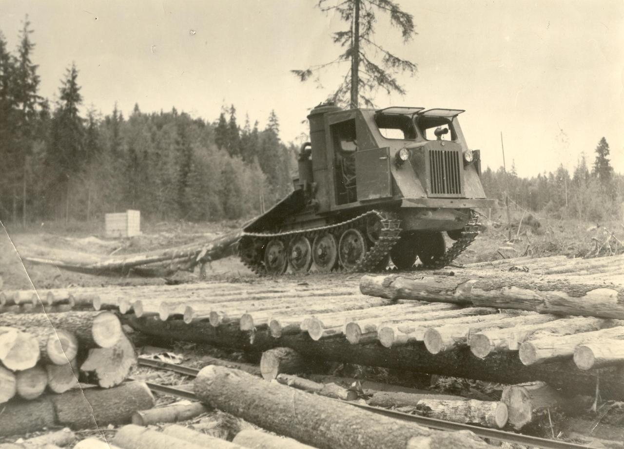 Советская чудо техника в эстонских лесах