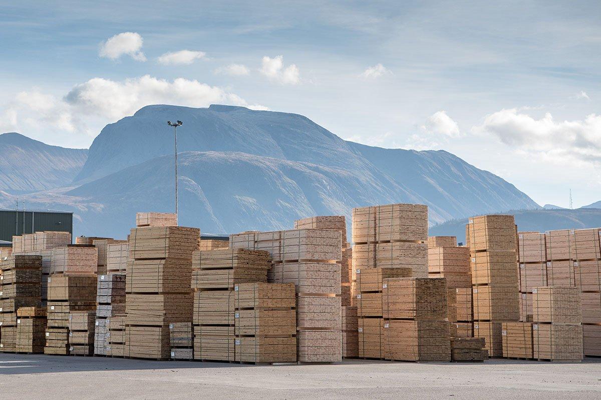 Великобритания: импорт пиломатериалов хвойных пород сократился на 3%