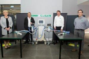 Read more about the article Инновация вентилятора Combilift поможет в борьбе Covid-19
