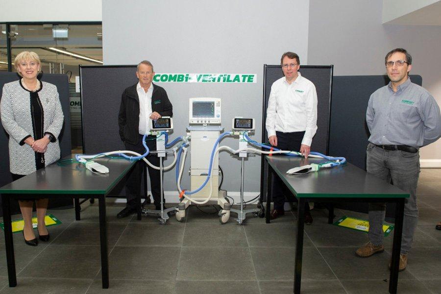 Инновация вентилятора Combilift поможет в борьбе Covid-19