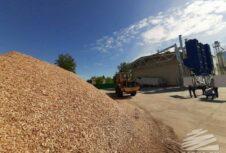 В Пружанском районе запустили пеллетный завод