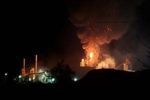 Завод по производству пеллет Pinnacle поврежден взрывом