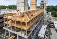 Город Ванкувер разрешит высокие деревянные здания до 12 этажей