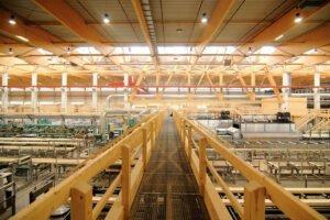 Hasslacher Preding вновь открывает лесопильный завод после модернизации