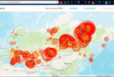 Гринпис впервые составил подробную карту и посчитал площадь весенних ландшафтных пожаров в России
