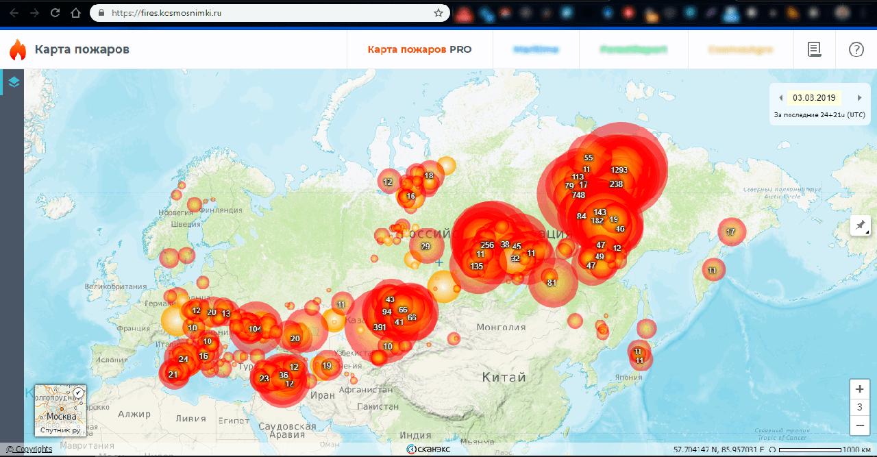 You are currently viewing Гринпис впервые составил подробную карту и посчитал площадь весенних ландшафтных пожаров в России