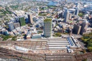 Австралийский технологический гигант Atlassian обнародовал план на 1 миллиард долларов, чтобы построить самую высокую в мире башню из гибридной древесины в центре Сиднея