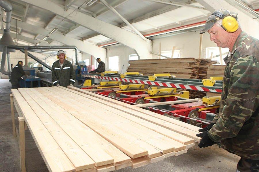 Организации Министерства лесного хозяйства за январь — май увеличили экспорт пиломатериалов на 30%