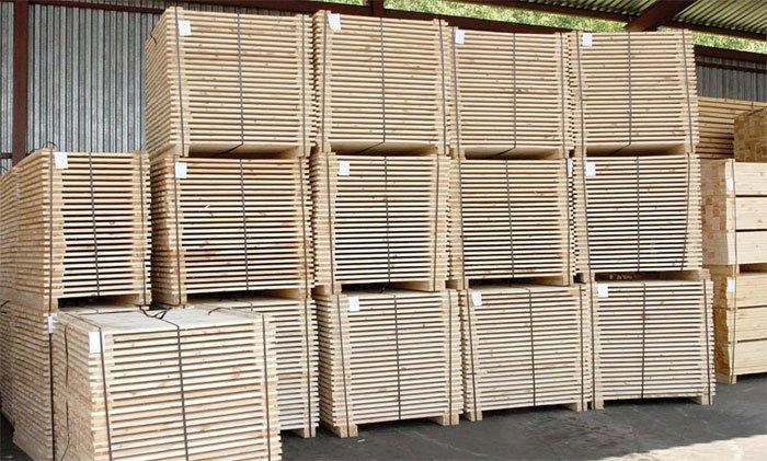 За 5 месяцев организации Минлесхоза увеличили экспорт пиломатериалов на 30 %
