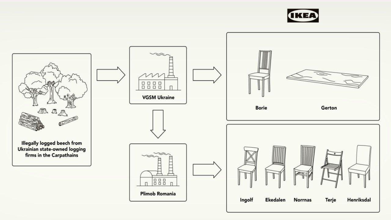 Ліс у пласкій упаковці (Проблема ІКЕА з незаконною деревиною та скомпрометована «зелена марка», що за цим стоїть)
