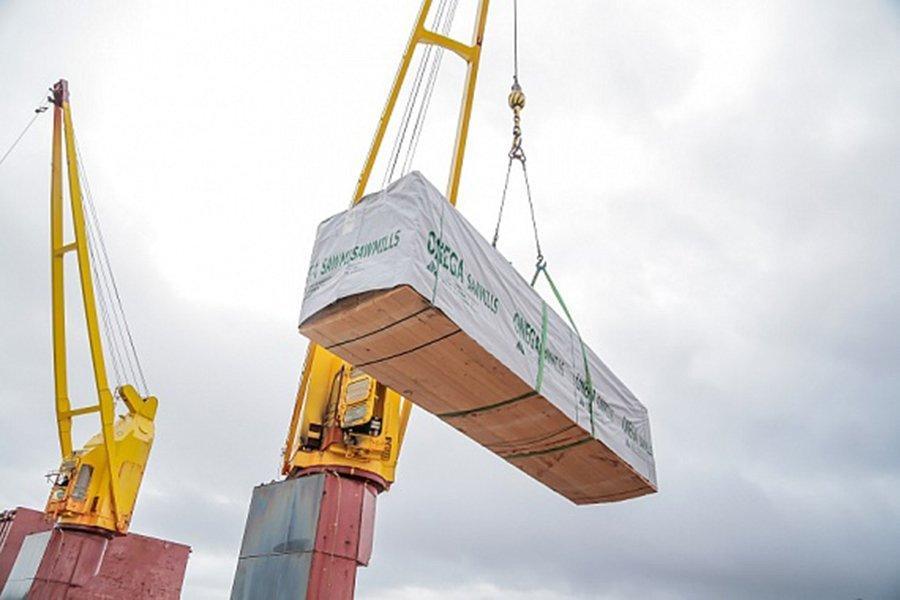 В январе-апреле 2020 г. Онежский ЛДК увеличил экспорт пиломатериалов на 30%