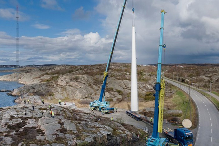 Шведский завод по производству деревянных турбинных башен профинансирован ЕС