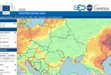 Удобный источник глобальных прогнозов пожарной опасности: GWIS