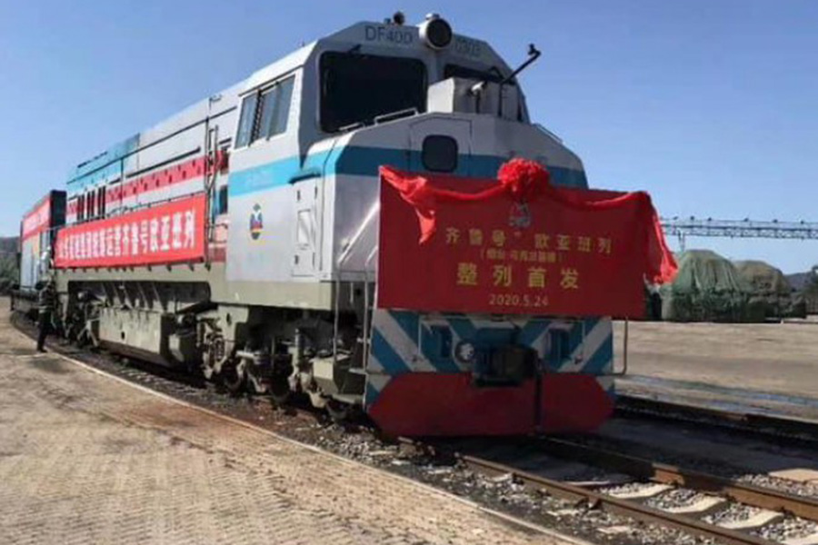 Запущен новый прямой контейнерный поезд Китай-Украина