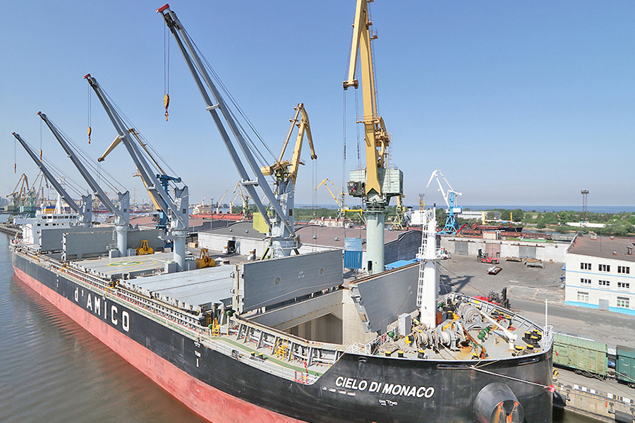 Морской порт Санкт-Петербург отгрузил рекордную партию высокоэкологичного биотоплива