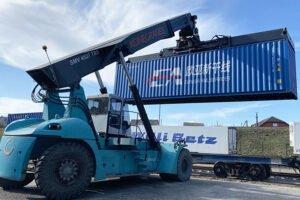 Контейнерный поезд с белорусскими пиломатериалами отправится в Китай 24 июля