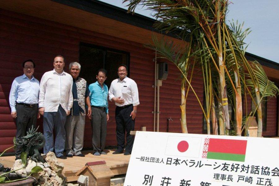Комплекс деревянных домов из Шклова возвели в японской Окинаве