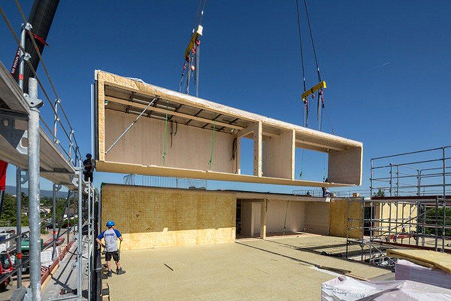 Швейцарская Krono видит светлое будущее деревянного строительства, несмотря на пандемию