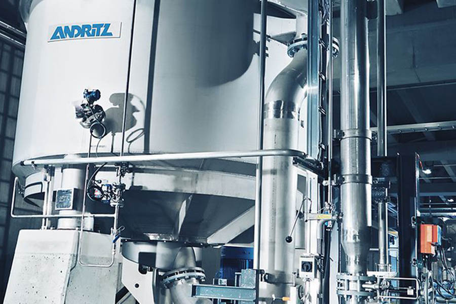 Andritz установит линию массоподготовки на заводе Vinda Personal Care в Китае