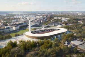 Stora Enso и Олимпийский стадион Хельсинки объединились для продвижения идей циркулярной экономики