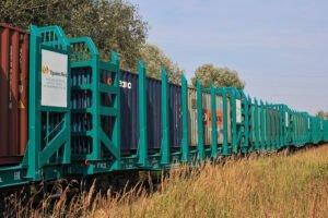 «ТрансЛес» и «Евросиб СПб – транспортные системы» организовали отправку контейнерного поезда из Новосибирска в Китай