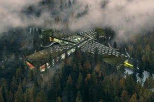Самая экологичная мебельная фабрика в мире будет посреди леса