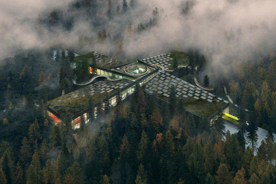 You are currently viewing Самая экологичная мебельная фабрика в мире будет посреди леса