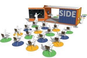 Класс в ящике перенесет образование на открытый воздух
