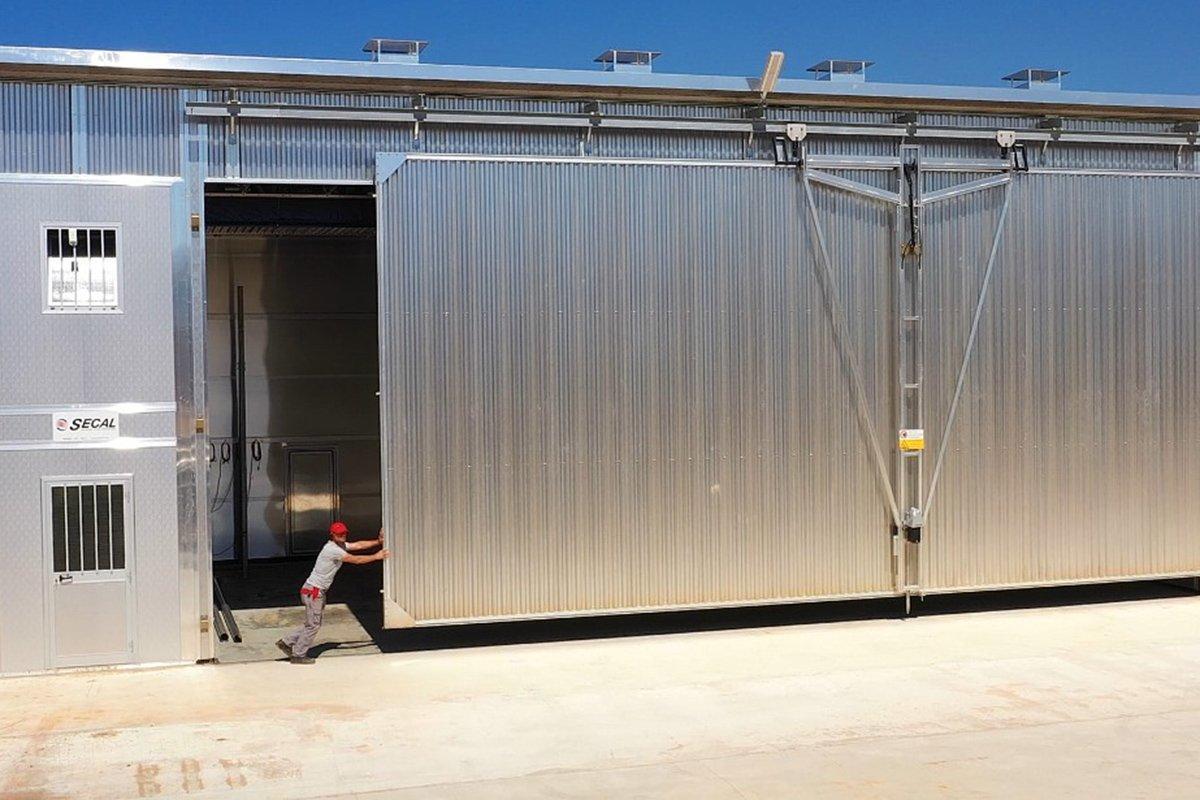 Компания SECAL поставила на российское предприятие сушильный комплекс объемом 2000 кубометров