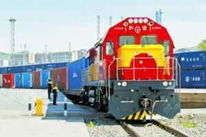 Грузовые поезда Китай-Европа в июле выросли на 68%
