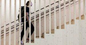 Лестницы из CLT легкие и быстрые в установке