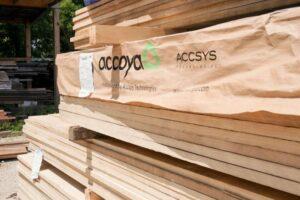 Компания Accsys Inks, лидер в производстве модифицированной древесины, объявляет о строительстве нового завода