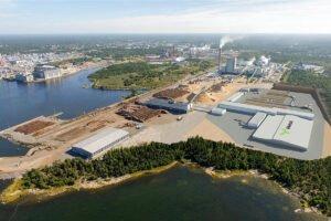 Mestä начинает строительство лесопильного завода в Раума