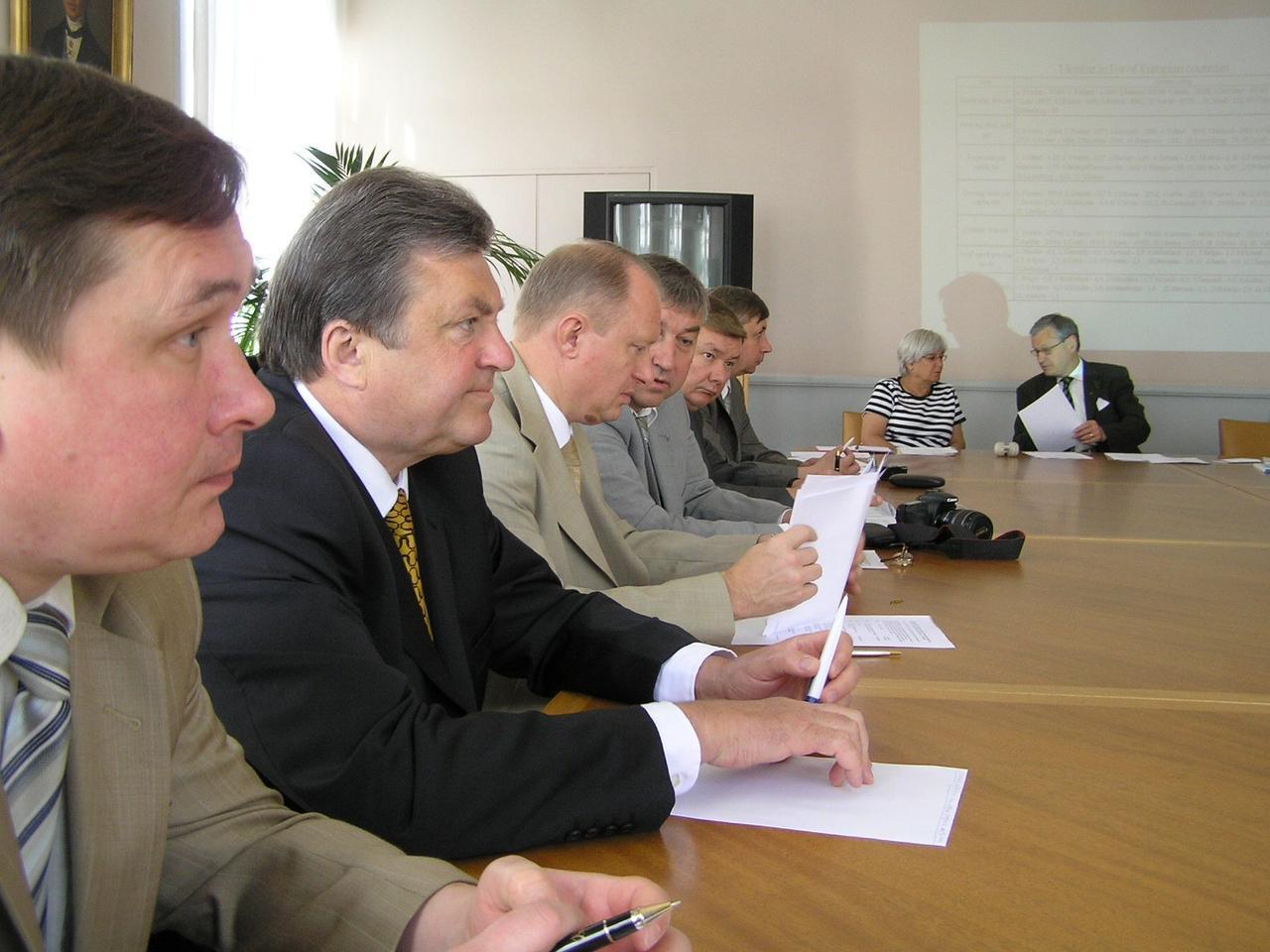 М.Попков: Лесная политика Украины и текущее развитие лесного сектора (Швеция, 2006)