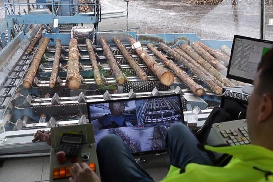Лесопиление на заводах Балтии по-прежнему сокращается