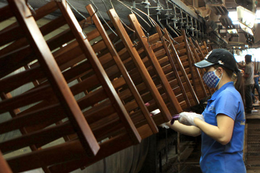Экспорт древесины и изделий из дерева из Вьетнама вырос за 8 месяцев