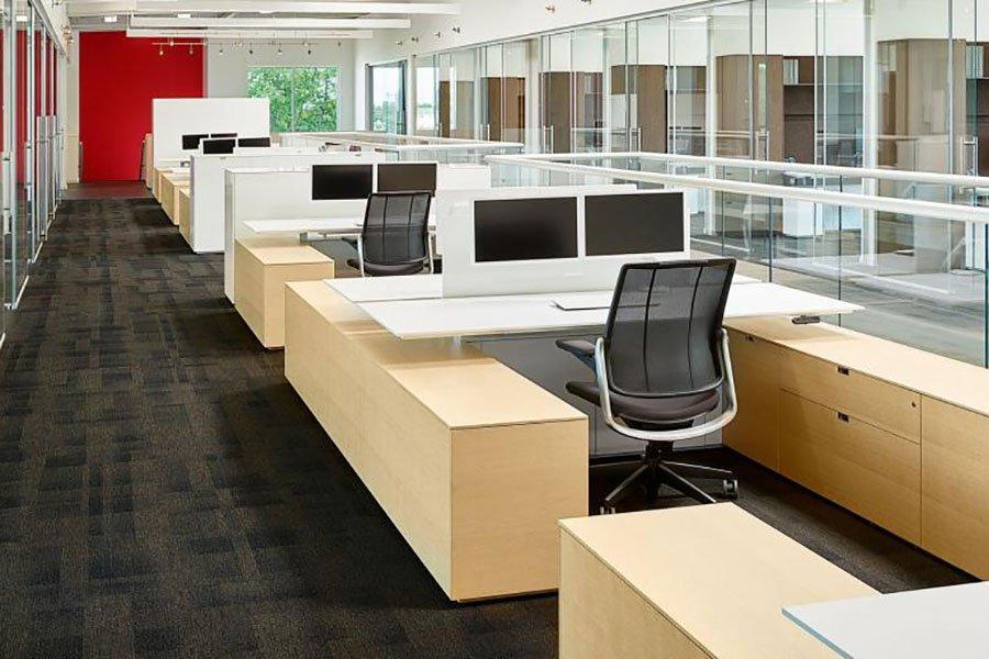 Умное производство помогает производителям офисной мебели увеличить выпуск продукции