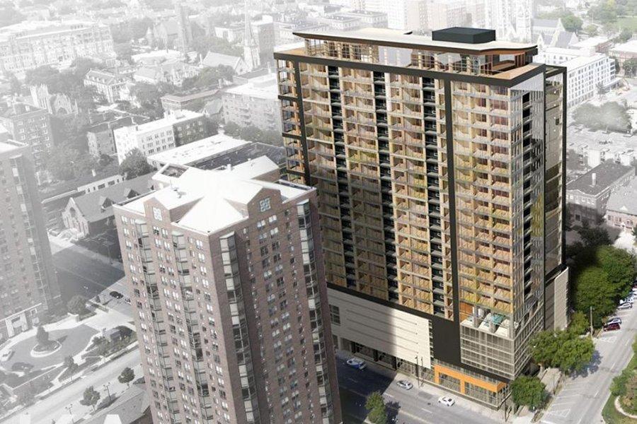 Самое высокое деревянное здание в мире строится в Милуоки
